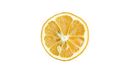 Mitad del limón Fotografía de archivo