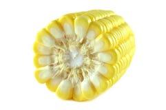 Mitad del maíz dulce fotos de archivo libres de regalías