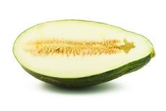Mitad del melón de piel de sapo Foto de archivo