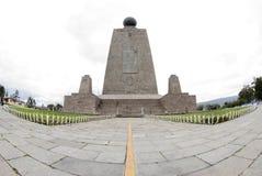 Mitad del mundo equator ecuador Royalty Free Stock Image