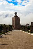 Mitad del Mundo Royalty Free Stock Images
