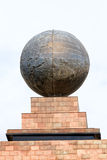 Middle of the world,  Mitad del Mundo, Equator, south america Royalty Free Stock Image