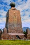 Mitad Del Mundo Monument Royalty Free Stock Image