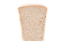 Mitad del pan Imagen de archivo libre de regalías