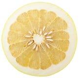 Mitad del pomelo maduro Imagen de archivo libre de regalías