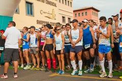 Mitad-maratón de Fuerteventura Imágenes de archivo libres de regalías