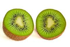 Mitades del kiwi Foto de archivo