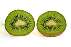 Mitades del kiwi Fotos de archivo