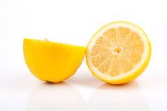 Mitades del limón Fotos de archivo