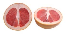 Mitades del pomelo dos Imagen de archivo