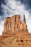 Mitaine gauche, vallée de monument Image libre de droits