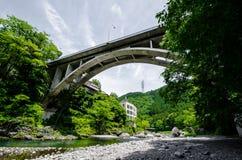 Mitakesan Bridgeway image libre de droits