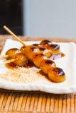 Mitarashi Dango Japanese dumpling and sweet Stock Images