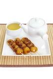 Mitarashi Dango lapanese dumpling Stock Photos