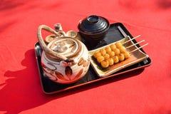 Mitarashi Dango Royalty Free Stock Photos