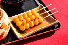 Mitarashi Dango Royalty Free Stock Image
