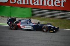 Mitch Evans 2014 GP2 Monza serii Zdjęcia Stock