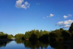 Mitcham Nature Park Pond stock photography