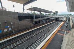 Mitcham railway station Royalty Free Stock Photo