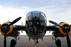mitchell бомбардировщика 25 b стоковые изображения rf