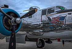 Mitchell B-25 Royalty-vrije Stock Foto