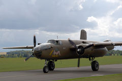 The Mitchell Bomber Stock Image