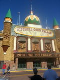 Mitchell Corn Palace Fotografia de Stock