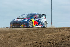 Mitchell Dejong rally driver Royalty Free Stock Photo