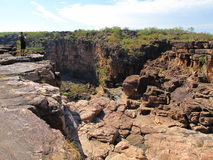 Mitchell falls, kimberley, west australia Stock Photo