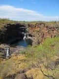 Mitchell falls, kimberley, west australia Royalty Free Stock Images