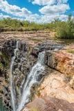 Mitchell Falls västra Australien Arkivfoton
