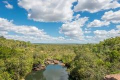 Mitchell Falls västra Australien Royaltyfri Fotografi