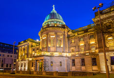Mitchell Library, een grote openbare bibliotheek in Glasgow royalty-vrije stock afbeeldingen
