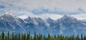 Mitchell Range, Canada Royalty-vrije Stock Afbeeldingen