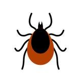 Mite tick vector icon royalty free illustration
