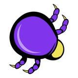 Mite virus icon, icon cartoon Royalty Free Stock Photos