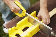 Miter Box Royalty Free Stock Image