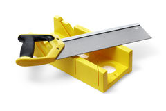 Miter box Royalty Free Stock Photo