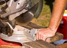 Miter Saw Royalty Free Stock Photo