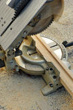 Miter saw, woodworking power tools Stock Image
