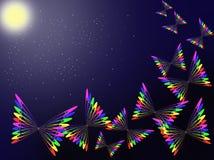 Mites d'abstraction illustration de vecteur