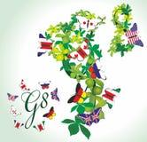 Mitglieder der Gruppe G8 Lizenzfreies Stockfoto