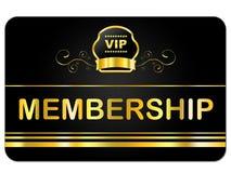 Mitgliedskarte-Shows sehr wichtiger Person And Application vektor abbildung