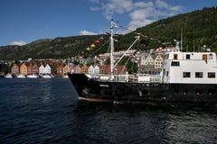 Mitgliedstaat Bruvik in Bergen Harbour Stockbilder