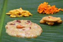 Mithai o Payasam de Kerala la India Imágenes de archivo libres de regalías