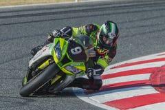 Mithos-Senior-Team 24 Stunden von Catalunya Stockbild