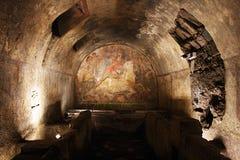 Mithraeum de Capua image libre de droits