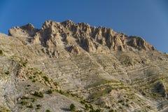 Mitikas el monte Olimpo Foto de archivo libre de regalías