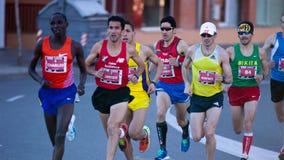 Mitja Marato Granollers 2013 fotos de stock royalty free