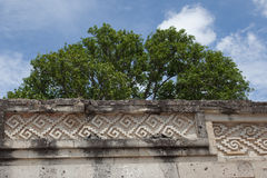 Mitla Royalty Free Stock Photo